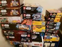 empty lego boxes lot 4