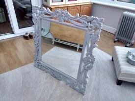 Shabby Chic Mirror (88cm x 88cm)