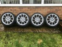 "BMW MV2 18"" Alloy Wheels, Genuine Alloys"
