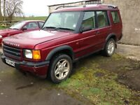 Land Rover discovery LPG
