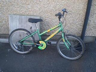 Child's Raleigh Bicycle