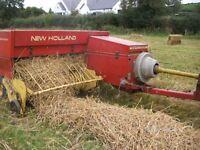 New Holland Baler 378