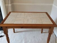 Farmhouse kitchen dining table for sale