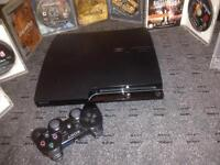 PS3 BARGAIN!!. 1 Controller 500gb + 7 games. Very cheap