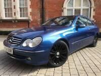 Mercedes Benz CLK 200 Avantgarde ** full mercedes history** PX TO CLEAR