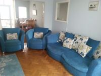Sofa and two arm chairs - fantastic condition. Originally from CSL.
