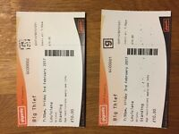 2 x Big Thief tickets 3/2/17 @ The Louisiana Bristol