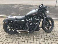 Harley Davidson XL883N with tons of extras