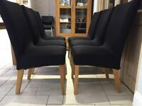 6 dining table chairs - £5 each