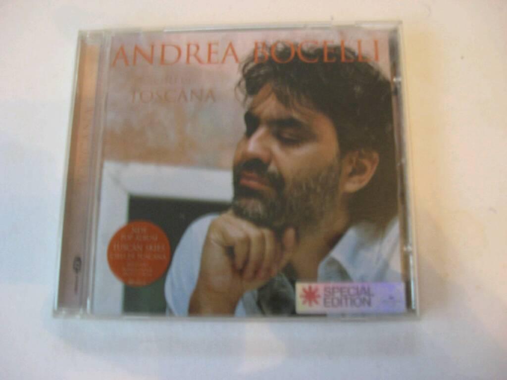 ANDREA BOCELLI TOSCANA SPECIAL EDITION 16 TRACK CD *** £2 ****
