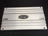 American Legacy LA2060 two channels car amplifier