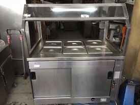 COMMERCIAL BAIN MARIE CUPBOARD RESTAURANT KITCHEN FASTFOOD TAKEAWAY RESTAURANT CAFE HOTFOOD CATERING