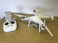 DJI Phantom 4 UAV Drone Quadcopter - White