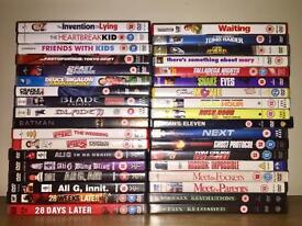 Bundle of 36 DVDs