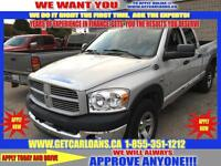 2008 Dodge Ram 1500 Quad Cab 4WD*HEMI*KEYLESS ENTRY*CLIMATE CONT