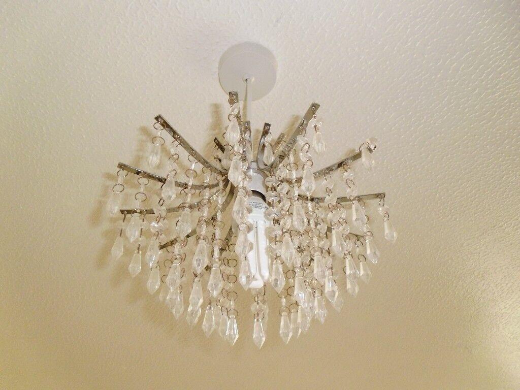 Chrome clear acrylic crystal ceiling light lamp shade chandelier chrome clear acrylic crystal ceiling light lamp shade chandelier lounge lights aloadofball Choice Image