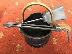 Fireplace kit (bucket / utensils / tools) from John Lewis
