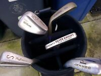 Golf bag with set