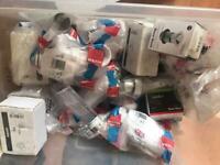 Plumbing, sink bottle traps, basin waste