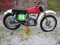 CZ 250 1971 Classic Racing Bike