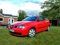 Seat Ibiza 5 door. Very low mileage! 1.2 petrol