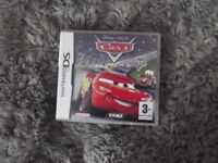 ***NINTENDO DS CARS GAME***