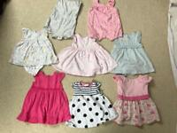 Massive bundle of baby girl clothes (0-3, 3-6 months)