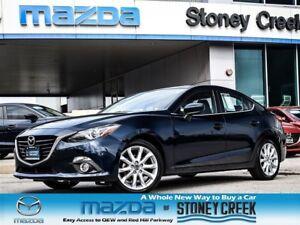 2014 Mazda MAZDA3 GT Auto Tech Lthr Bose 2.5L LOW KM Alloy SUN+F