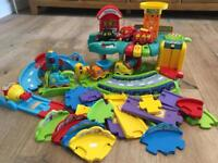 Vtech Toot-Toot Garage with accessories