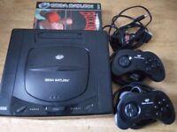 Sega Saturn + 2 games