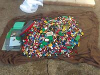 assorted job lot lego 17kg aprox excellent condition