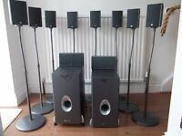 TWO 5.1 HOME CINEMA SURROUND SOUND SYSTEMS