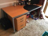 Ikea beech filing cabinet
