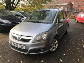 56 plate - Vauxhall zafiar 1.9 cdti - 6 speed - strong service hisotry - 11 months mot