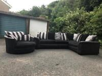 SCS corner Sofa and swivel cuddlier chair for two £380