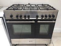 Caple Twin Oven Dual Fuel Cooker