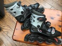 Roller blades size 2/33 No Fear