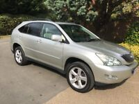 Lexus RX300 automatic - full service history with all old mots, may part exchange
