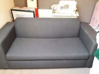 Charcoal Grey Sofa Bed-Great Condition