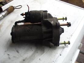 Peugoet Boxer starter motor