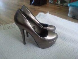 Heeled Platforms Shoes