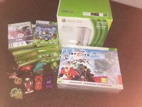 Xbox 360 + 28 games (white edition) £150 ono