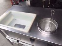 COMMERCIAL CATERING PREPARATION/BREADING TABLE BAKERY BAKERS RESTAURANT CUISINE DINING CAFE BAR FOOD