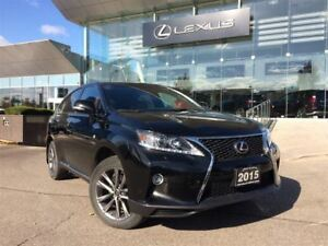 2015 Lexus RX 350 F Sport AWD Navi Backup Cam Bluetooth Sunroof