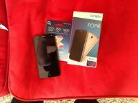 Alcatel pop 4 smart phone. 4 g