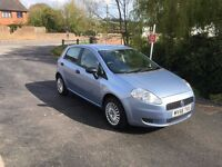Only 67000 miles - Fiat Grande Punto Active 1.2 - 5 door - New MOT with no advisories- lovely car