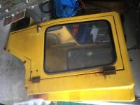 Small digger - Tractor cab