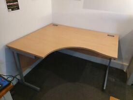 Proteus I Left Hand Ergonomic Office Desk