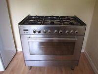 DeLonghi Range Cooker (Gas Hob & Electric Oven)