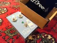 Ashdown Dr Green Octadose - Bass Octave pedal - Brand new boxed